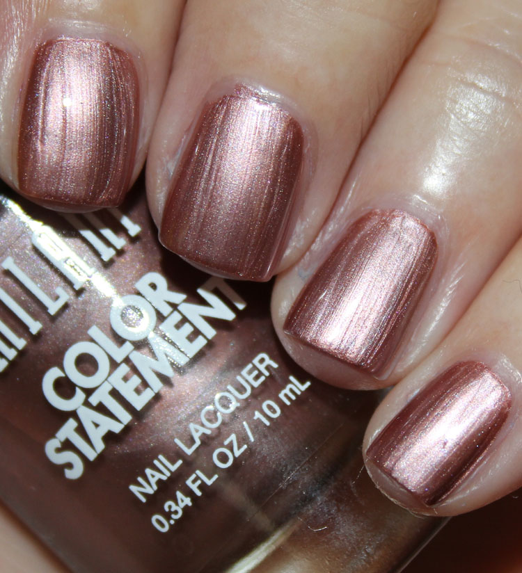 Milani Color Statement Nail Lacquer Swatches & Review