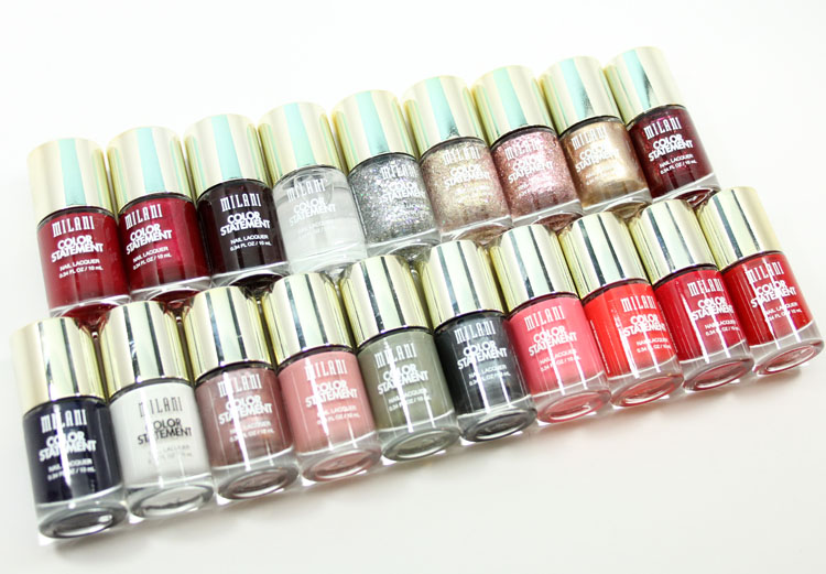Milani Color Statement Nail Lacquer Collection-2