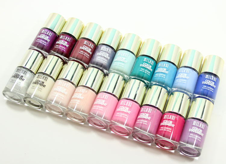 Milani Color Statement Nail Lacquer Collection