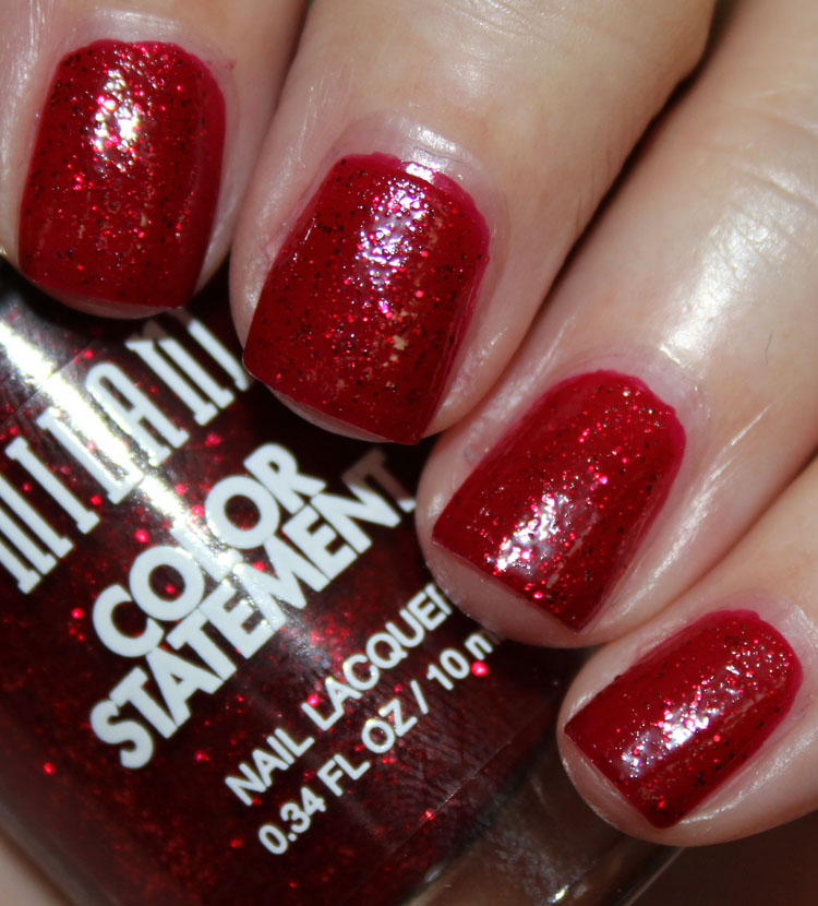 Milani Color Statement Nail Lacquer Crimson Jewel
