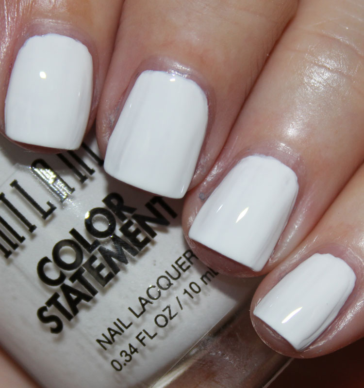 Milani Color Statement Nail Lacquer Spotlight White