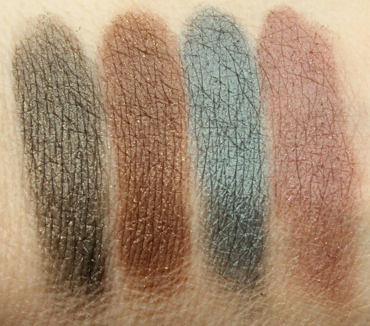 NYX The Suede Shadow Palette Swatches-2