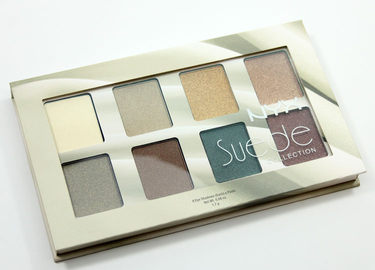 NYX The Suede Shadow Palette