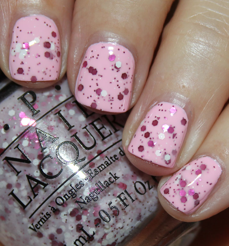 OPI The Power of Pink over Mod About You
