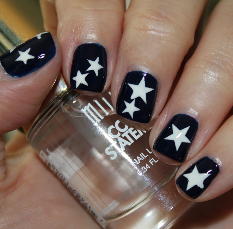 Pixi Imperial Blue with Stars