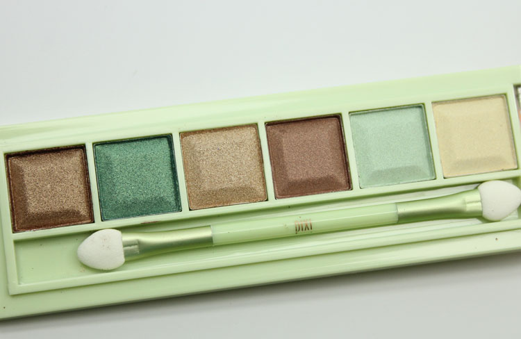Pixi Mesmerizing Mineral Palette Emerald Gold-2