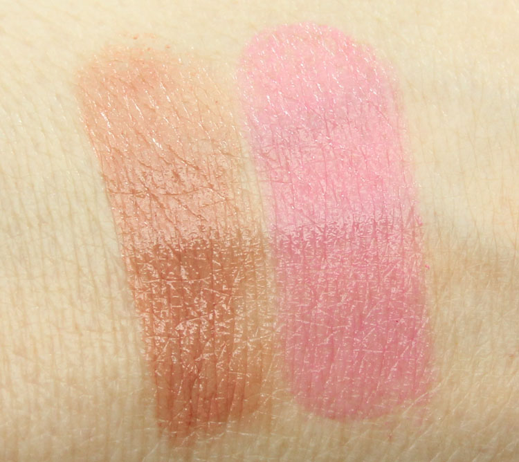 Pixi Shea Butter Lip Balm Swatches