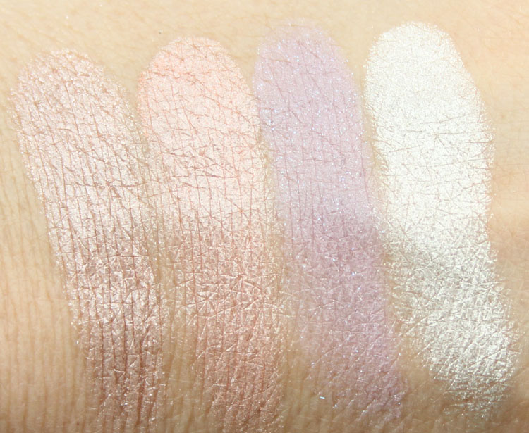 Stila Eyes Are The Window Shadow Palette Body Swatches