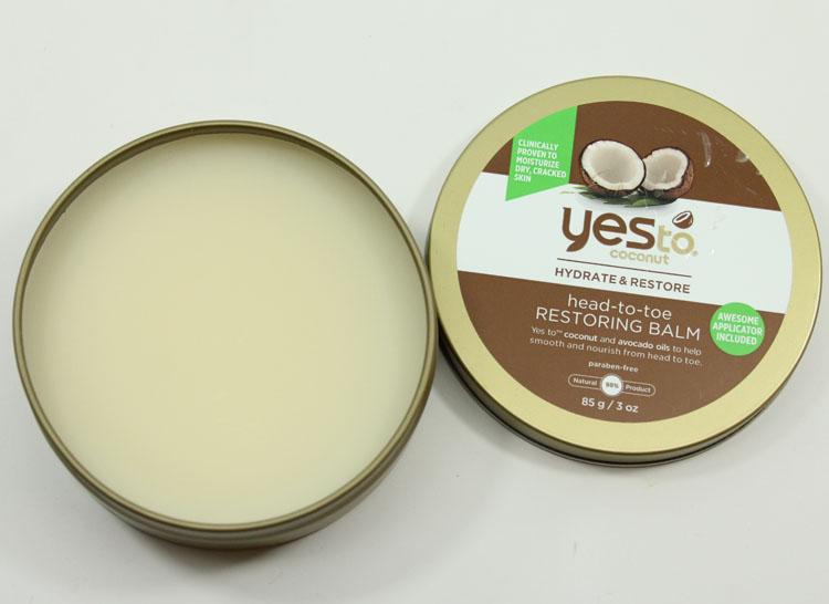 Yes to Carrots Coconut Hydrate & Restore Head-to-Toe Restoring Balm