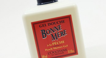LOccitane Bonne Mere Peach Shower Gel
