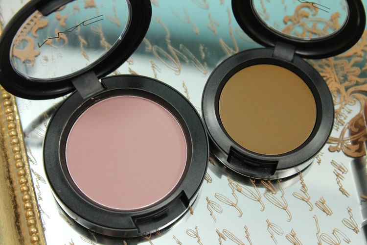 MAC Pink Cult Powder Blush, Au Nature Cream Colour Base