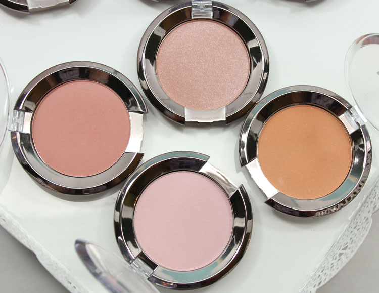 Makeup Geek Blush Honeymoon, Smitten, First Love, Hanky Panky
