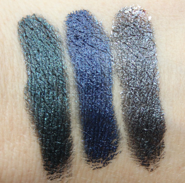 Milani Constellation Gel Eye Liner Swatches
