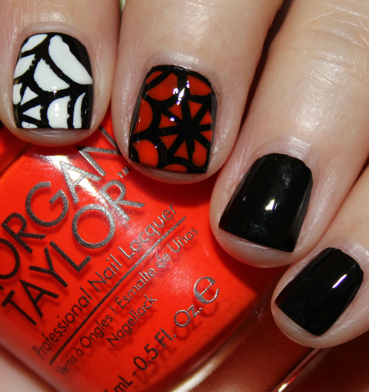 Morgan Taylor Halloween Spider Webs