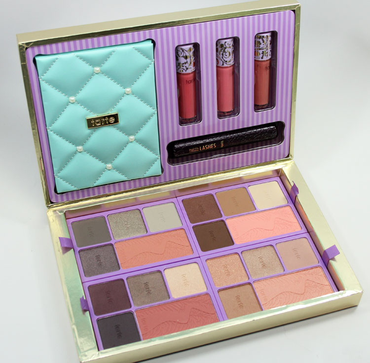 Tarte Away Oui Go Collectors Set & Portable Palette for Holiday 2014-2