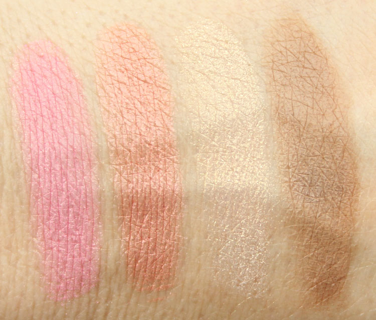 Too Faced Everything Nice for Holiday 2014 Swatches