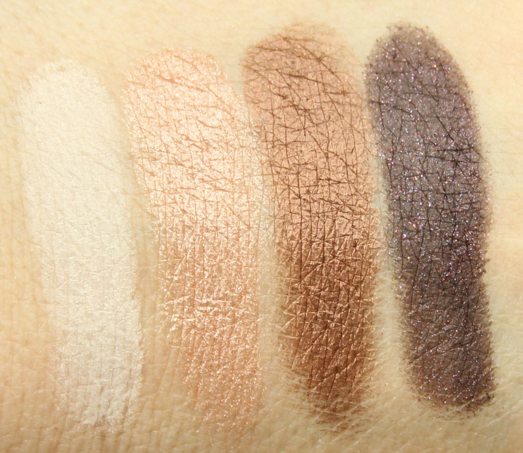 Too Faced Sugar & Spice for Holiday 2014 Swatches