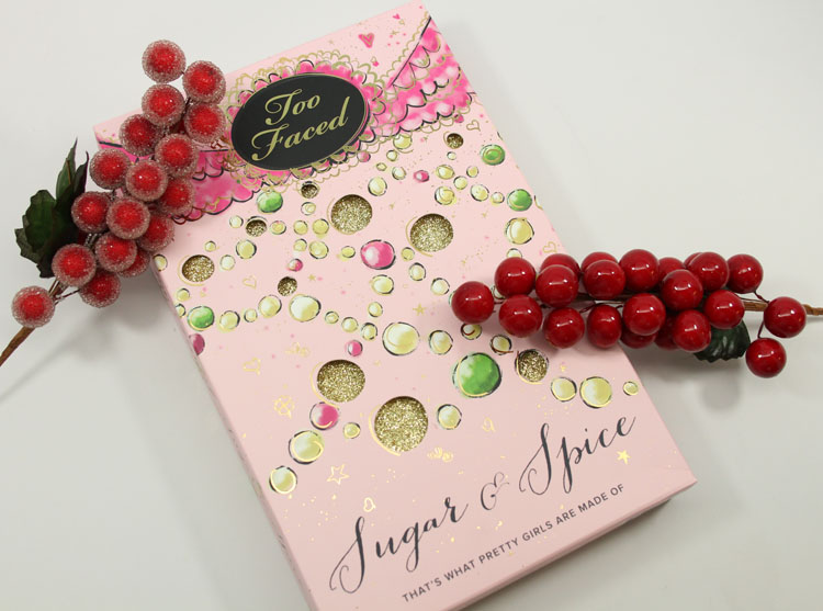 Too Faced Sugar & Spice for Holiday 2014