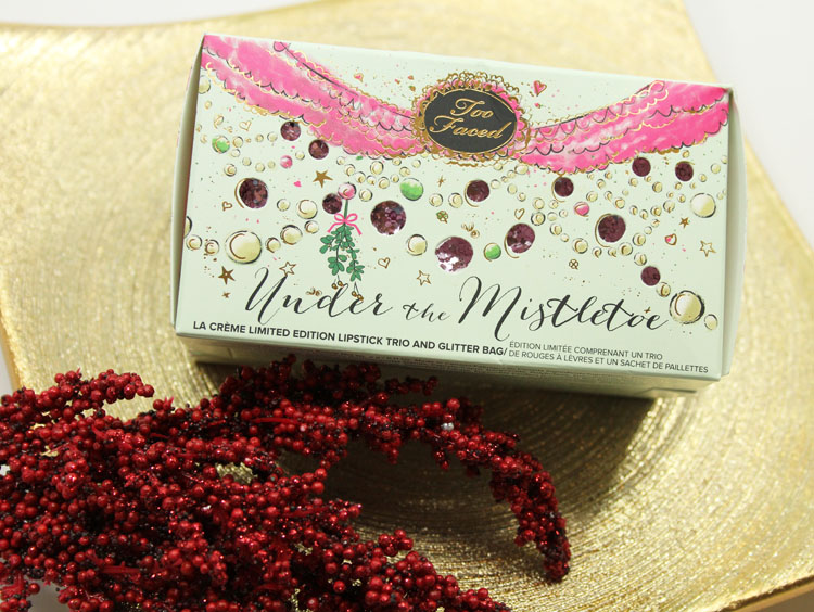 Too Faced Under The Mistletoe for Holiday 2014