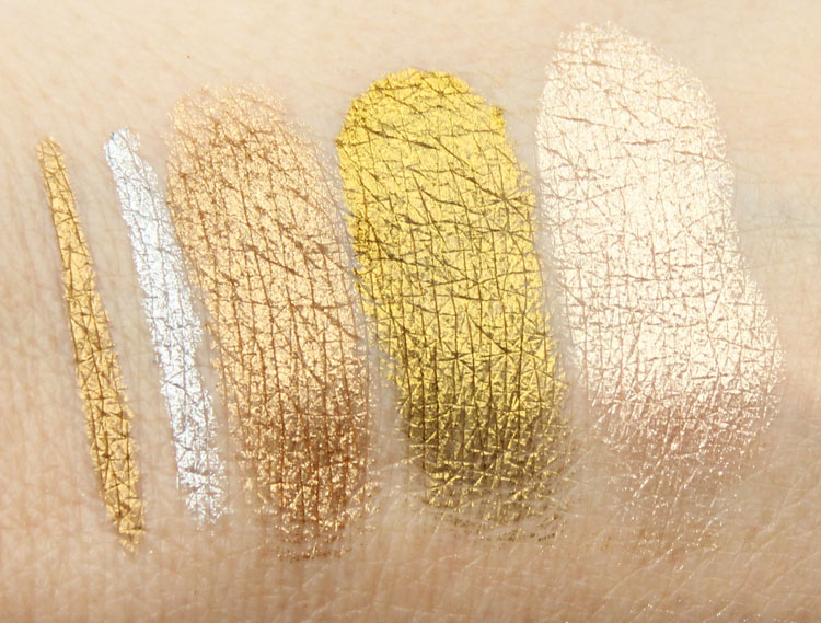 Top 10 Gold and Silver Swatches