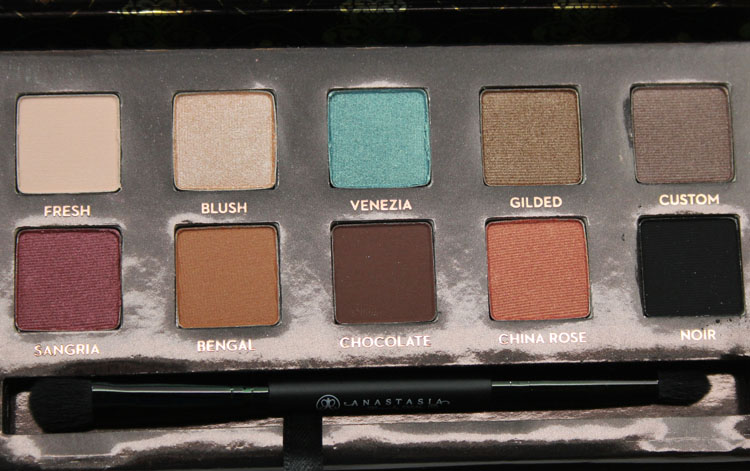 Anastasia Tamanna Palette For Fall 2014 Vampy Varnish
