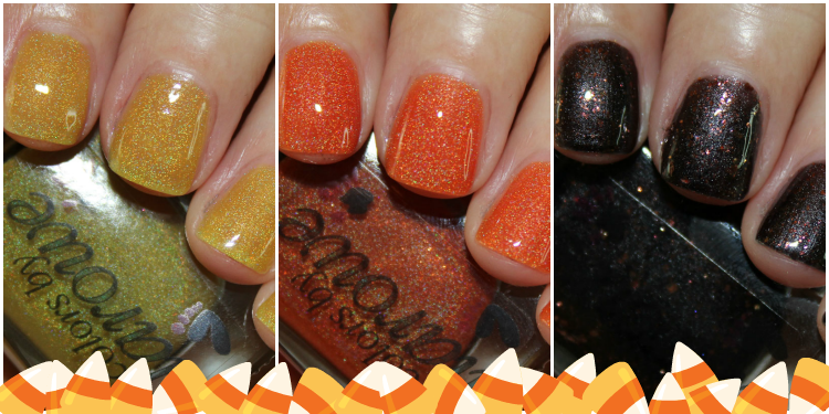 Colors by Llarowe I Love Candy Corn Trio