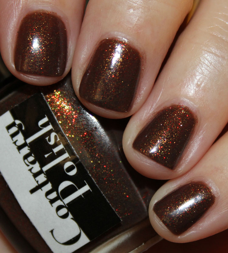 Contrary Polish Last Leaves Swatch