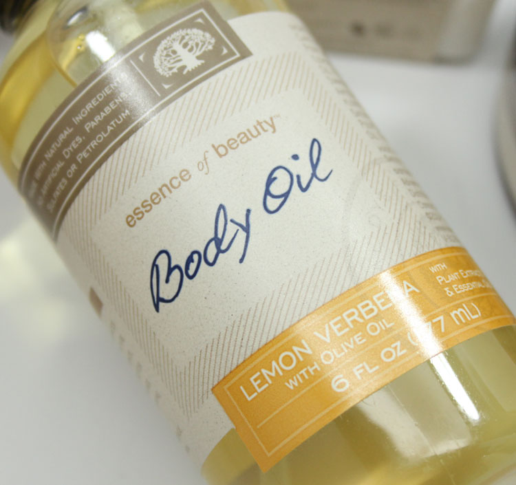 Essence of Beauty Lemon Verbena Body Oil