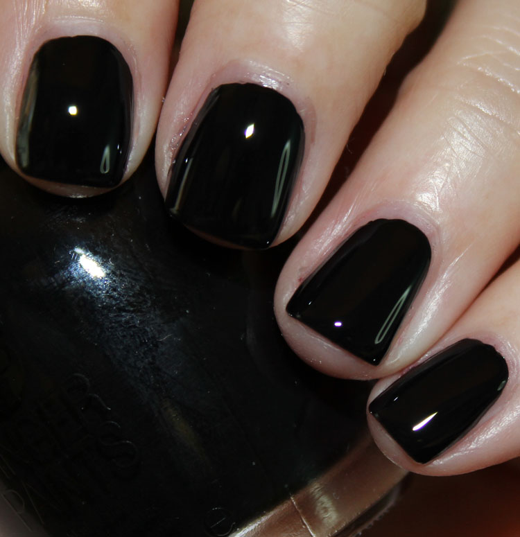 FingerPaints Patent Black with Top Coat