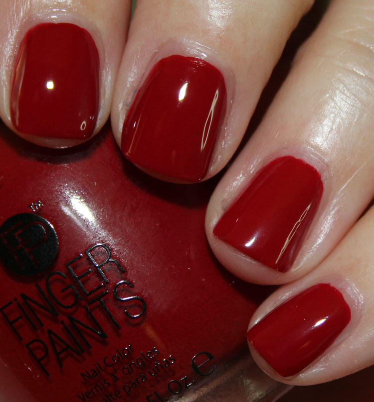FingerPaints Patent Red