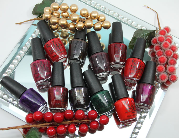 Gwen Stefani for OPI Holiday 2014