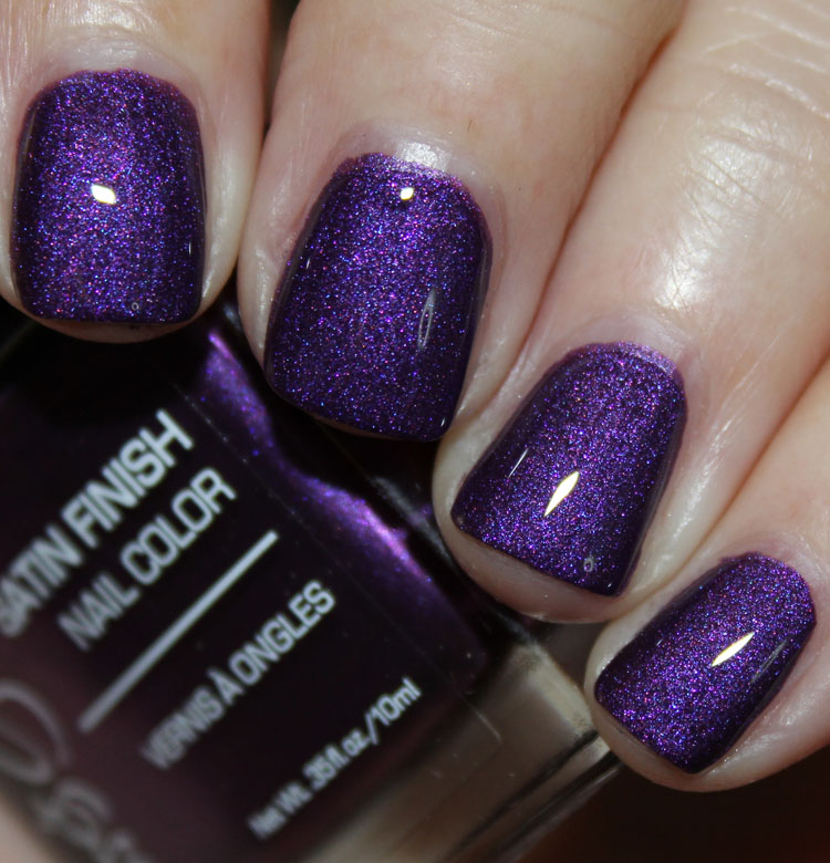 Jesse's Girl Amethyst with Top Coat