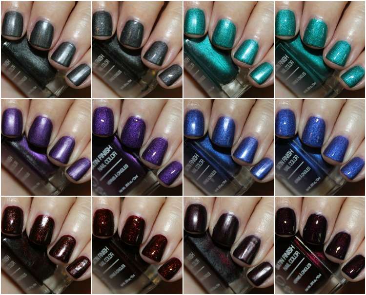 Jesse's Girl Satin Finish Nail Color Collection