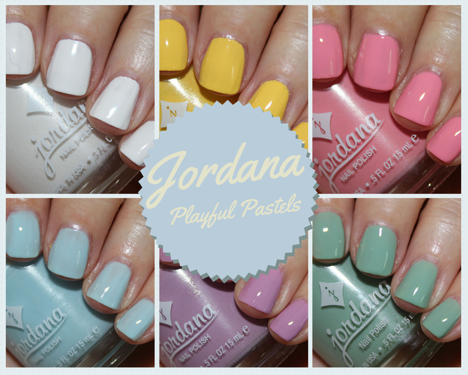 Jordana Playful Pastels Swatches and Review | Vampy Varnish