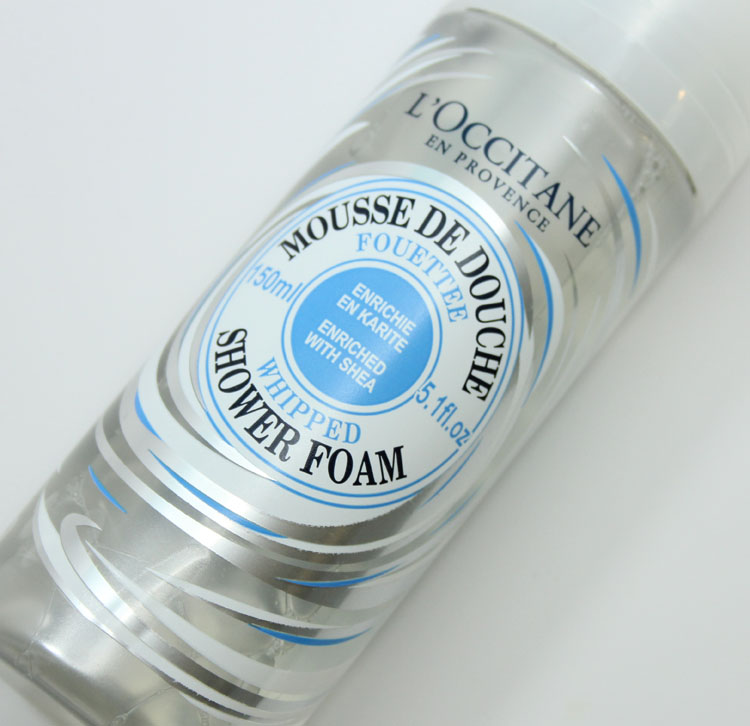 LOccitane Shea Whipped Shower Foam