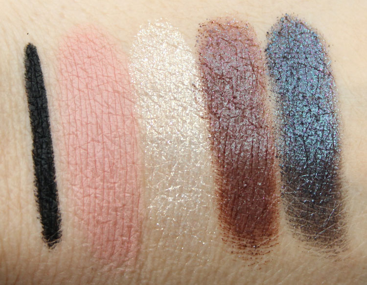 MAC Heirloom Mix for Holiday 2014 Swatches