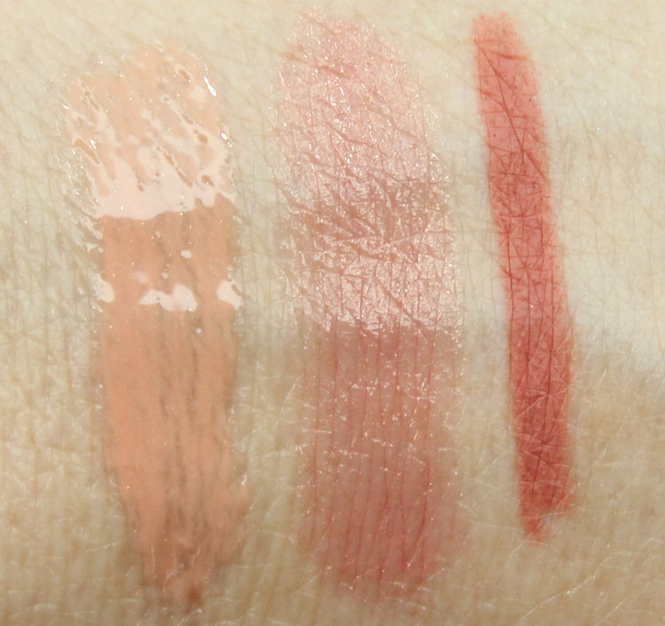 MAC Keepsakes Nude Lip Bag Swatches