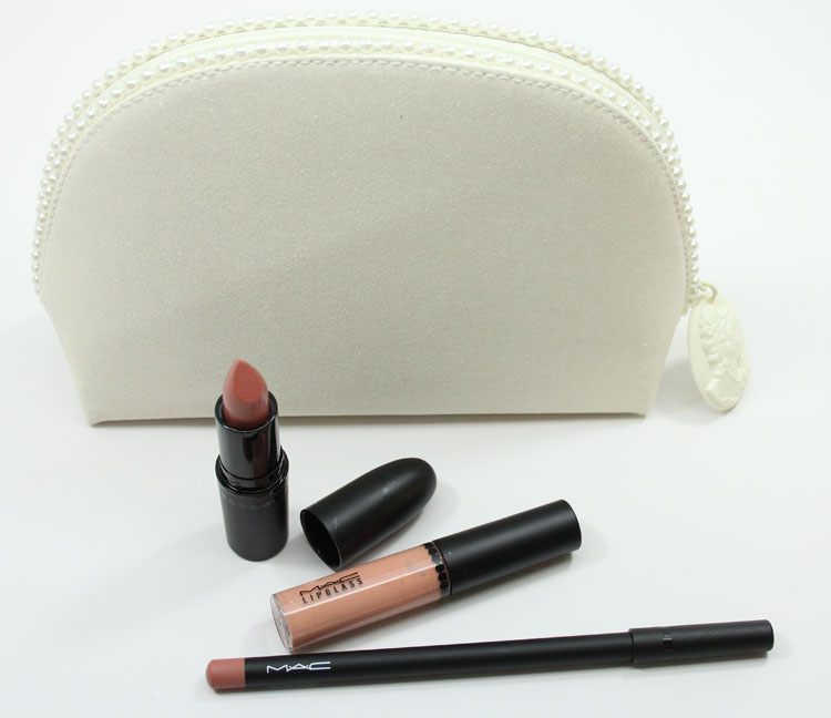 MAC Keepsakes Nude Lip Bag
