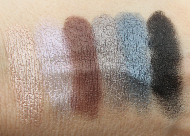 MAC Riff-Raff Swatches