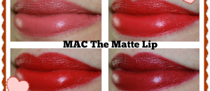 MAC The Matte Lip Swatches and Review