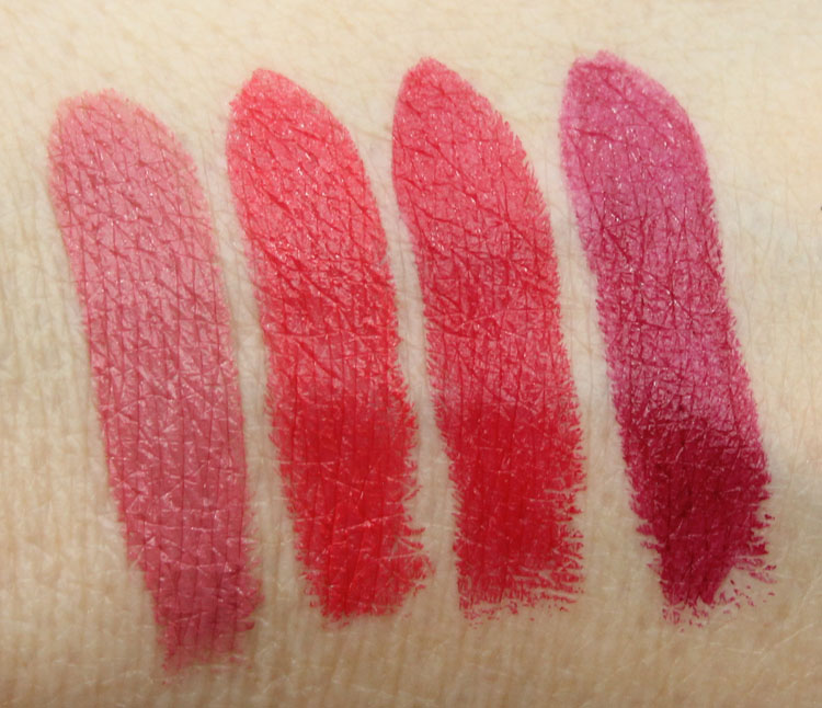 MAC The Matte Lip Lipstick Swatches