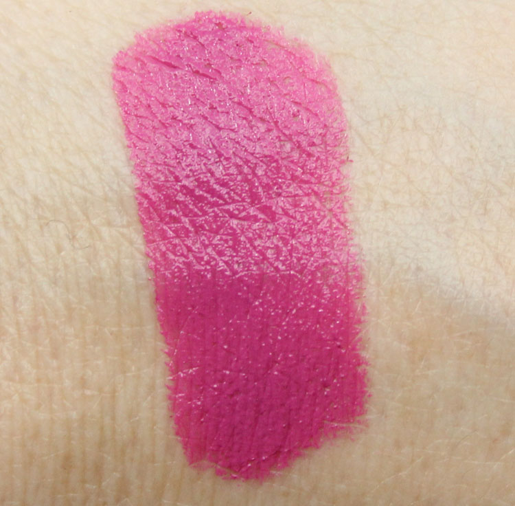 NARS Audacious Lipstick in Angela Swatch