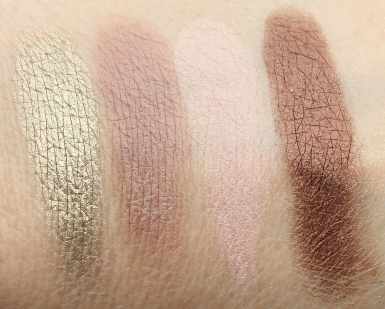 Buxom Dollys High Roller Collection Eyeshadow Swatches