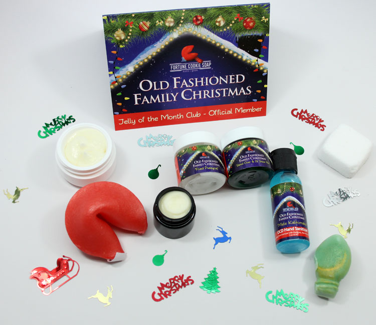 Fortune Cookie Soap Old Fashioned Family Christmas 2014 Winter Soap