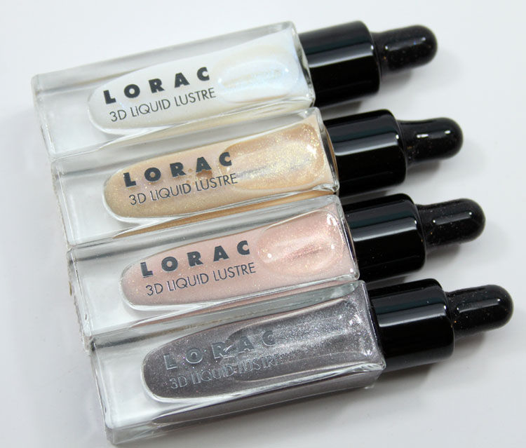 LORAC The Royal 3D Liquid Lustre Set