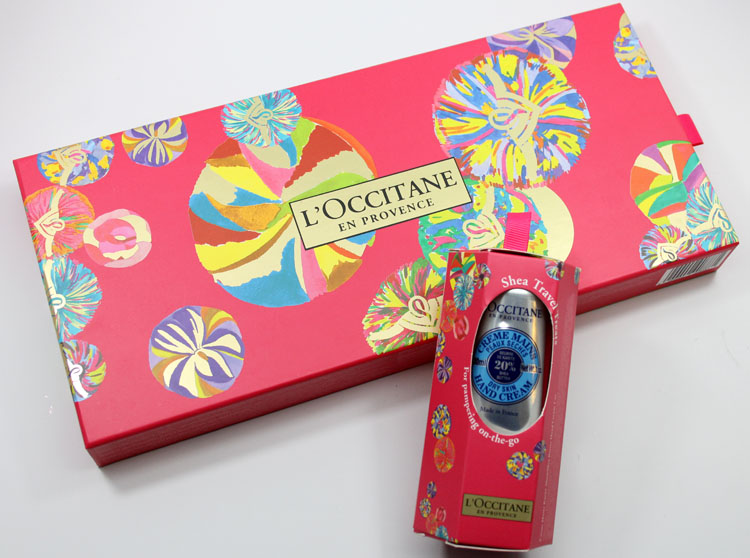 LOccitane Hand Cream Bouquet & Shea Travel Treats