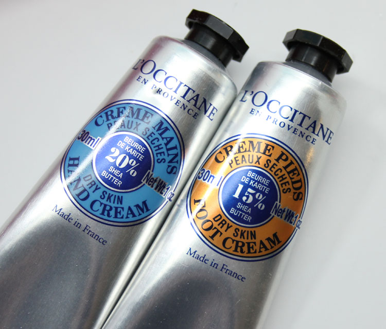 LOccitane Shea Travel Treats