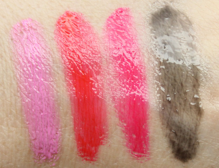 OCC Stained Gloss After Dark Set Swatches