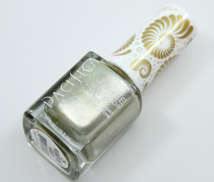Pacifica Heart Of Gold Nail Color