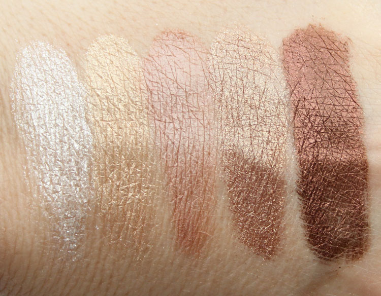 Pixi Fairy Dust Favourites in Light Catchers Swatches